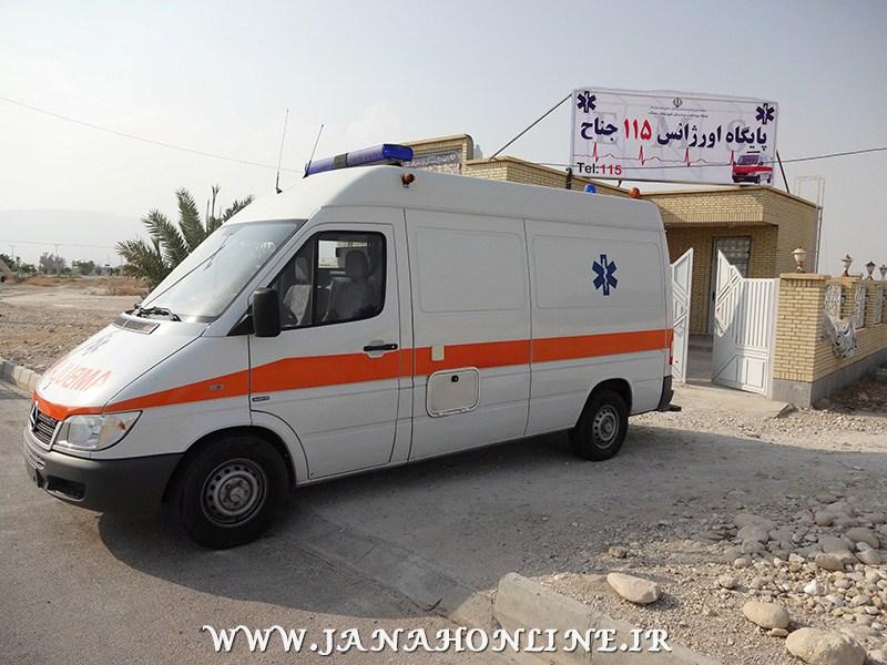 به مناسبت هفته دولت،پایگاه اورژانس ۱۱۵ جناح افتتاح شد