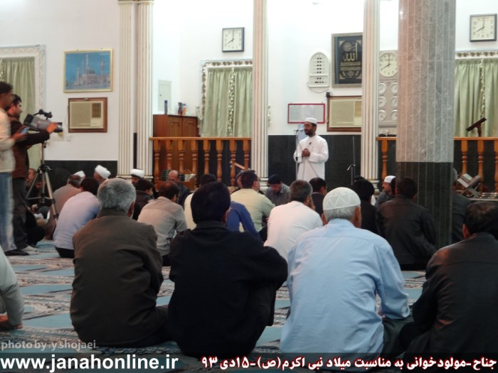 گزارش تصویری>آیین مولودخوانی در جناح به مناسبت میلاد نبی اکرم(ص) + ۱۱عکس