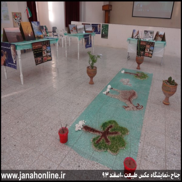 گزارش تصویری>برگزاری نمایشگاه عکس طبیعت در جناح
